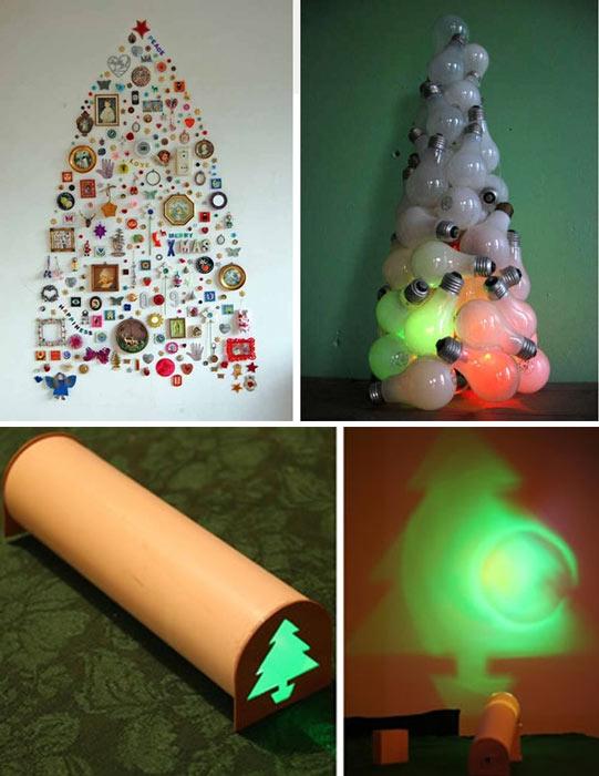 Rboles de navidad originales como hacer un arbol de for Como hacer un arbol de navidad original