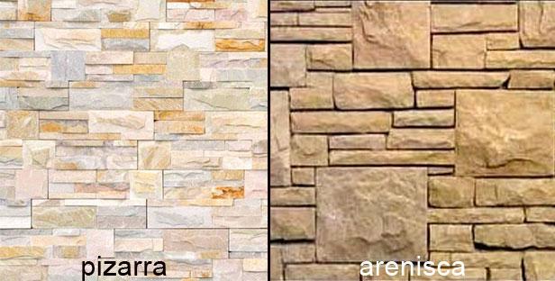 C mo hacer un mini revestimiento de piedras laja - Hacer pared de piedra ...