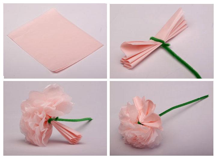 Como se hacen las flores de papel peri dico imagui - Como se hacen flores de papel ...